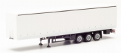 Herpa 076944 Curtainside Trailer